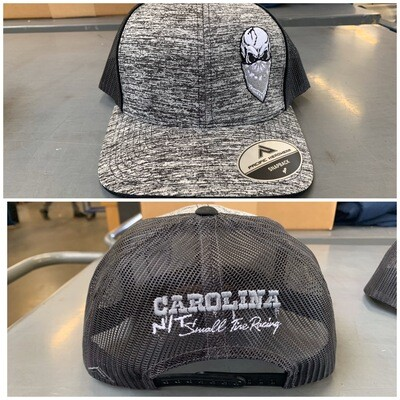 Heather Grey /Black Tucker hat