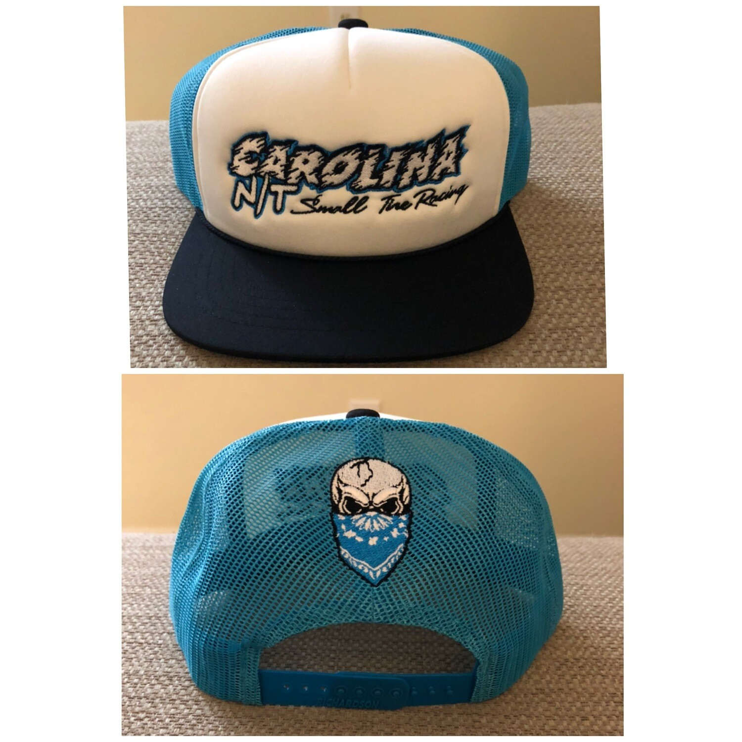 Carolina Blue / New Carolina NT letters Trucker Hat