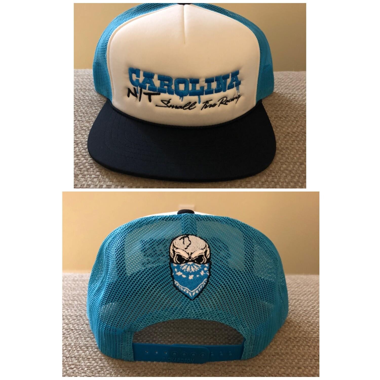 Carolina Blue/white OG letters Trucker Hat