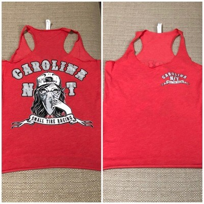 TANK TOP Lady Bandit Red/Silver