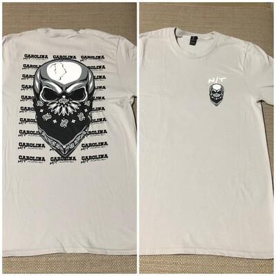 Silver/Black Big Skull
