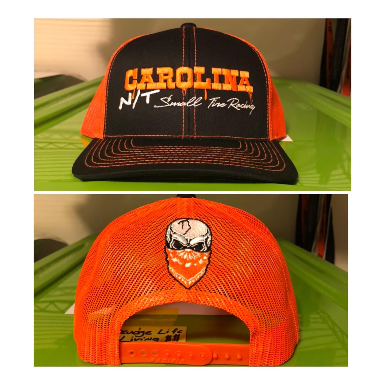 Neon Orange/Black Carolina NT Trucker Hat