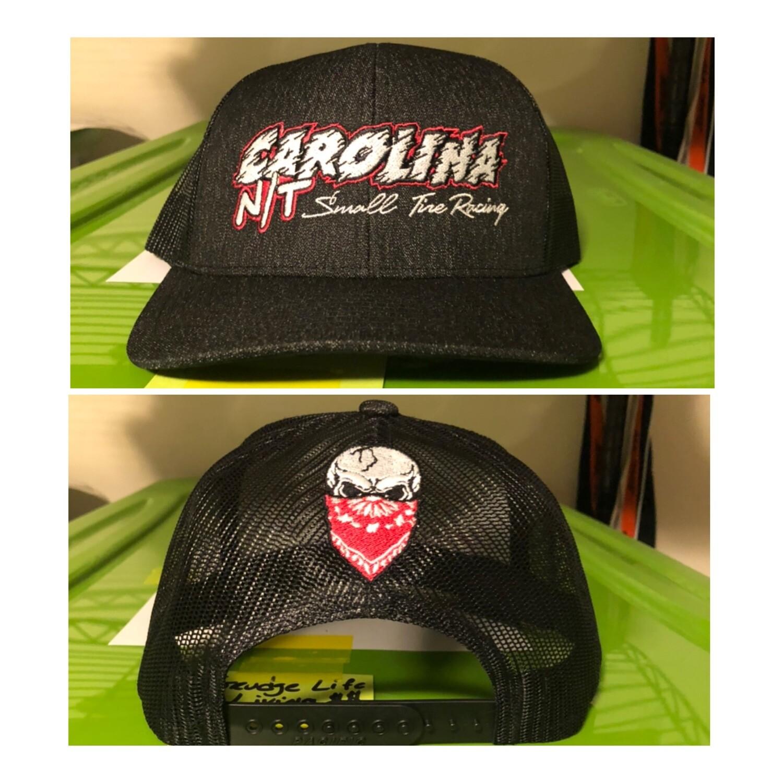 Grey/Pink letters Carolina NT Trucker Hat