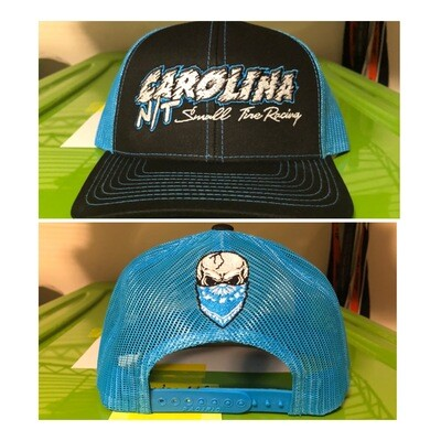 Blue /Black Carolina NT Trucker Hat