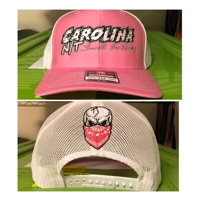Pink/white CarolinaNT Trucker Hat