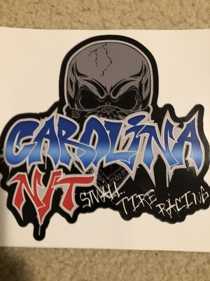 2020 Graffiti Red/Blue Decal