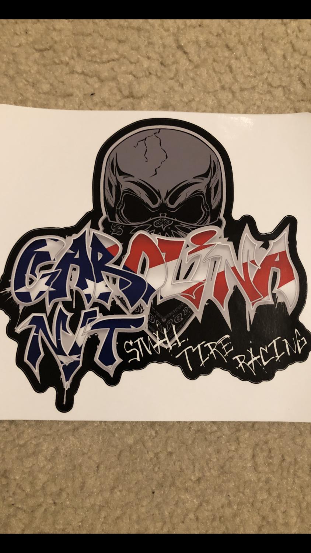 2020 Graffiti America Flag Decal