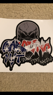 2020 Graffiti America Flag Decal