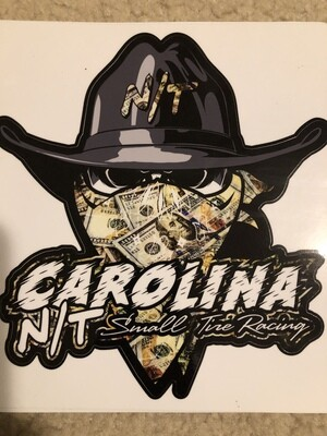 Money $$ Cowboy Bandit Decal