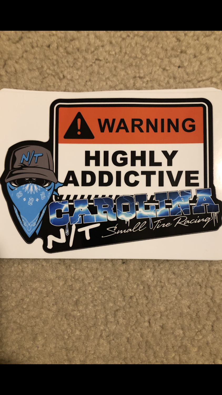 Highly addictive Decal