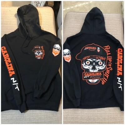 Pull up or Shut up Black/Orange Hoodie