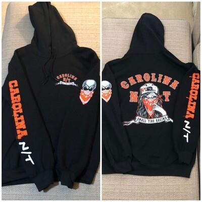 Lady Bandit Black/Orange Hoodie