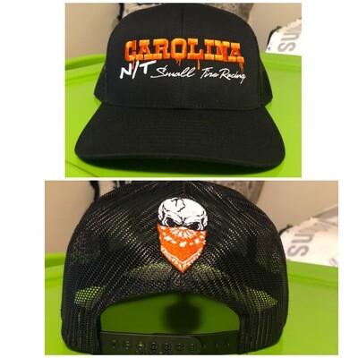Black OG orange letters Trucker style hat