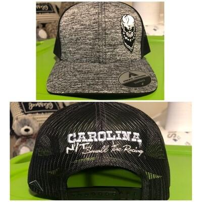 Grey/Black OG Big Skull Trucker hat