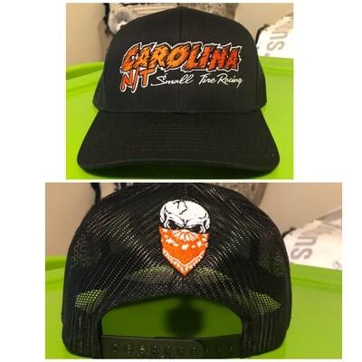 Black New style Orange letters Trucker hat