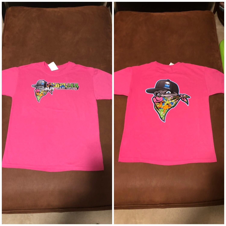 PINK Graffiti KIDS T-Shirt