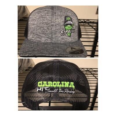 Grey/Neon Green Ball Cap Bandit Trucker Hat