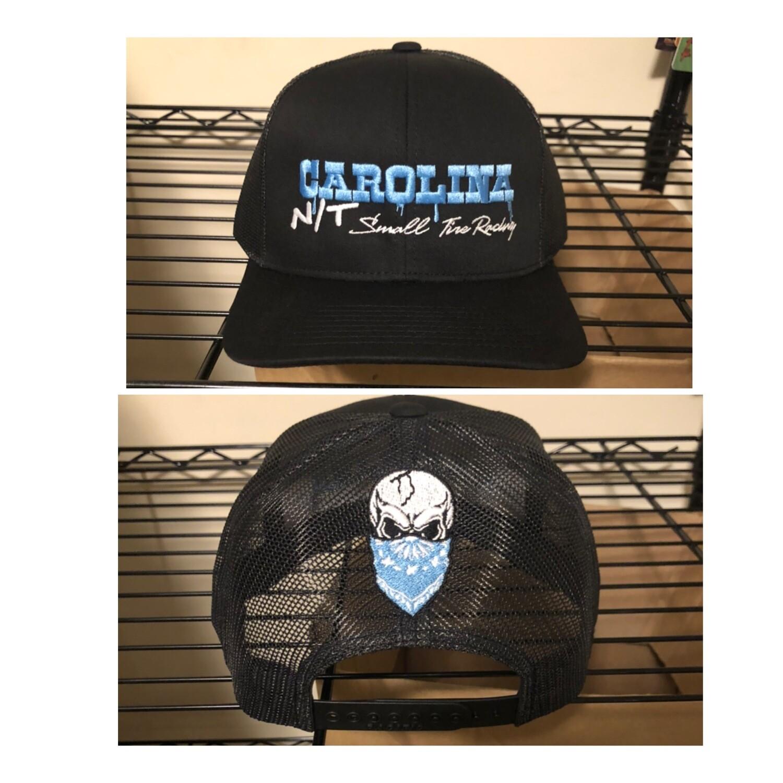 OG Carolina NT letters Black Trucker HAT