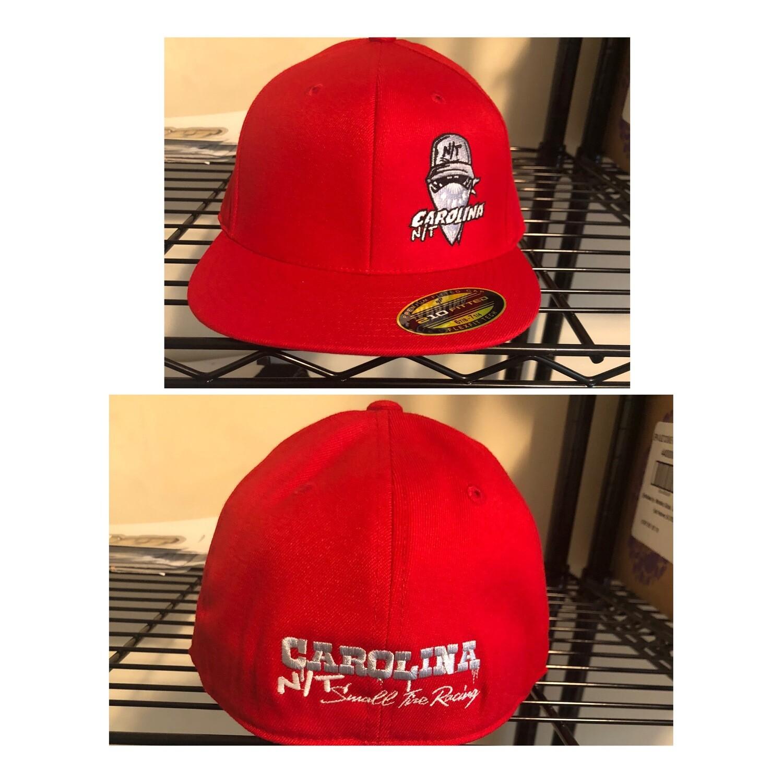 Ball Cap Bandit Red/Grey Flex Fit
