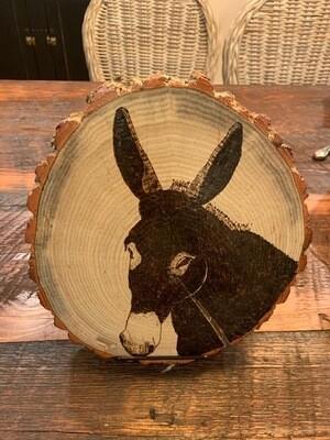 Donkey Wood Burnings