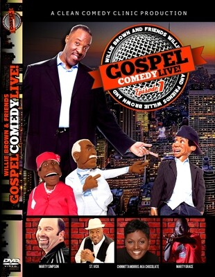 Gospel Comedy Live Episode #1 DVD