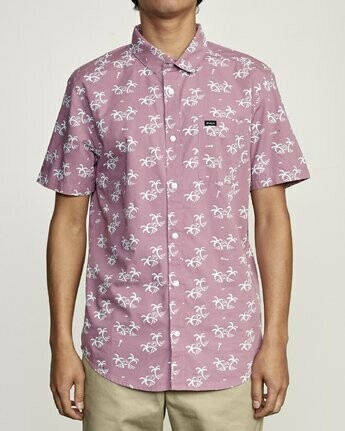 RVCA Easy Palms SS Woven