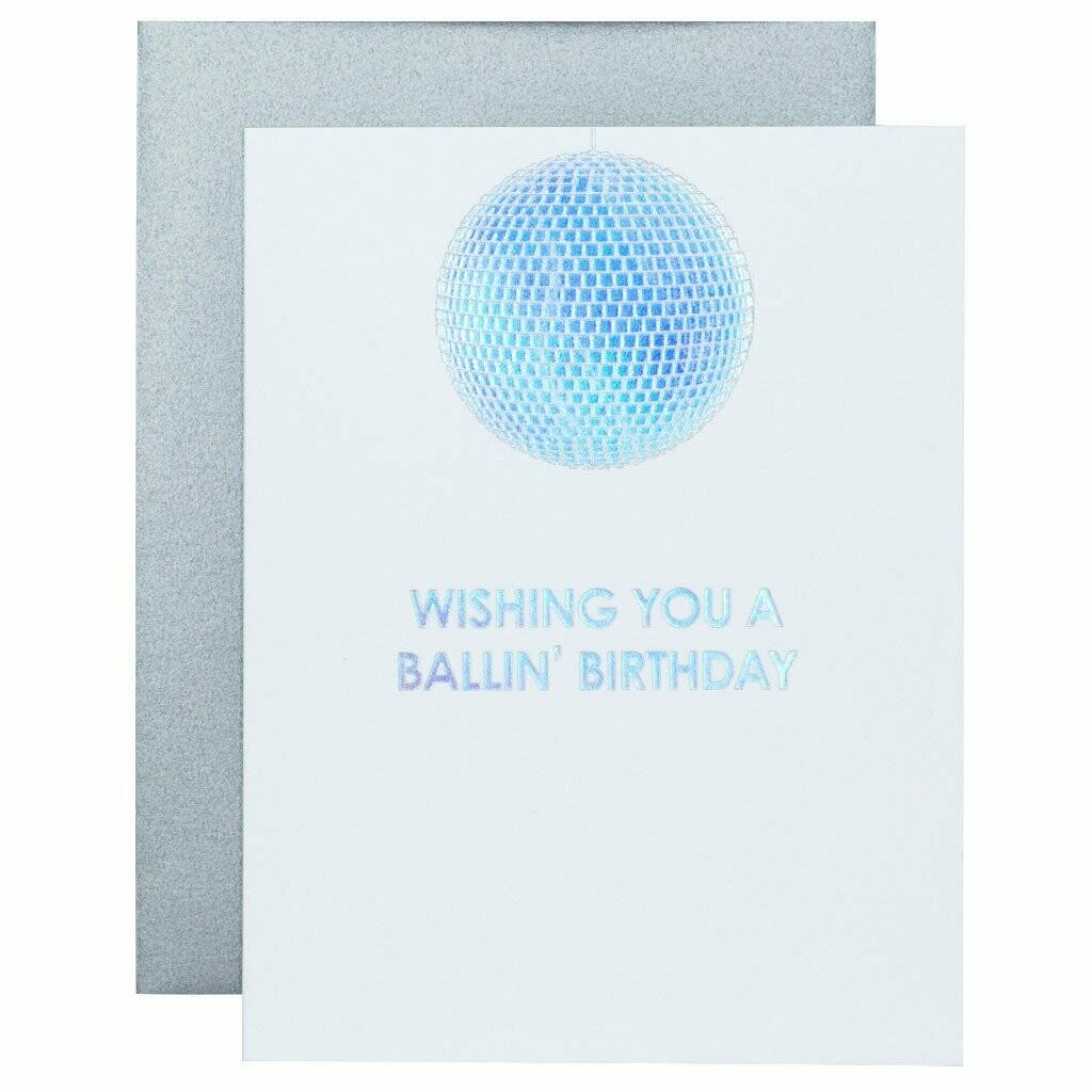 Ballin Birthday Card