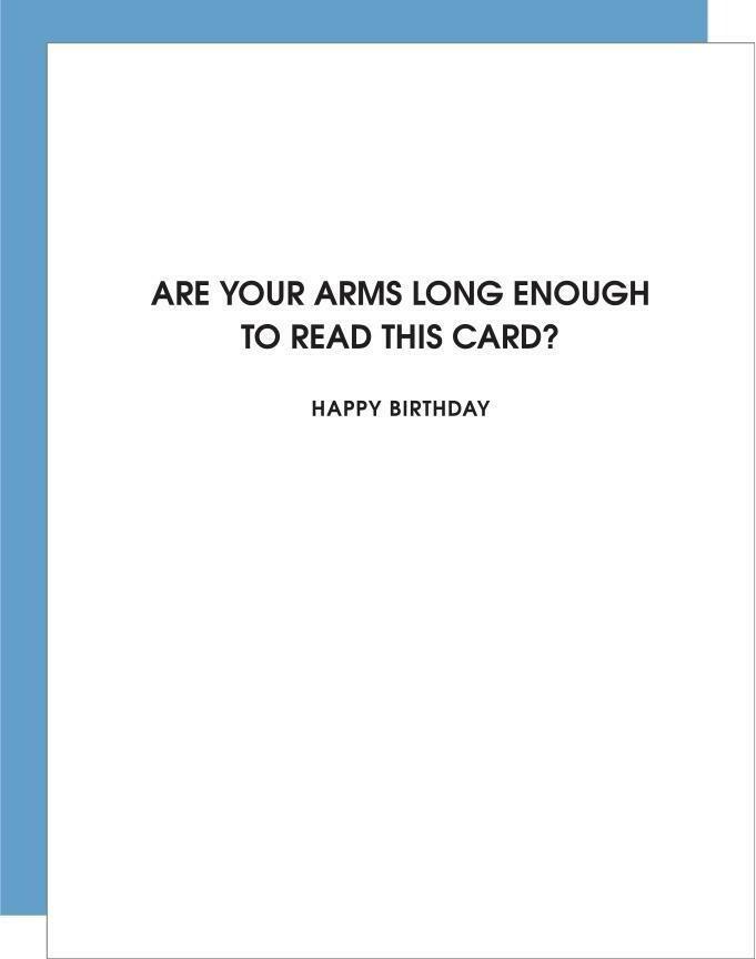 Arms Long Enough Card