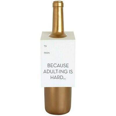Adulting Wine Card