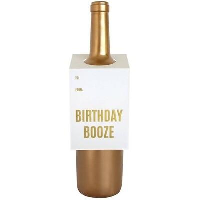 Birthday Booze Wine Card