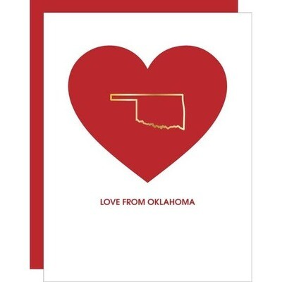 Love From OK Card