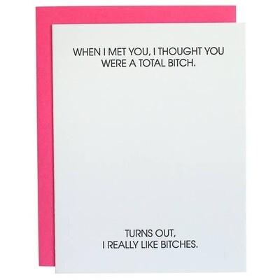 Total Bitch Card