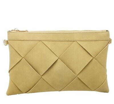 Woven Clutch-Ivo