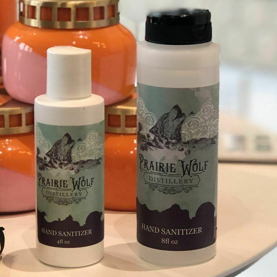 Prairie Wolf Hand Sanitizer
