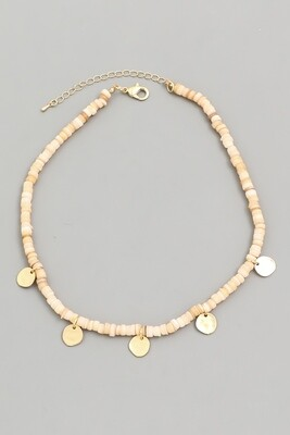 Beaded Disc Choker