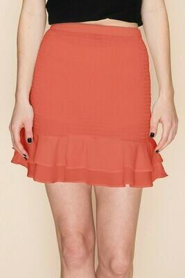 Hannah Skirt-Coral