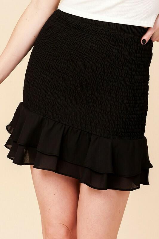 Hannah Skirt-Black