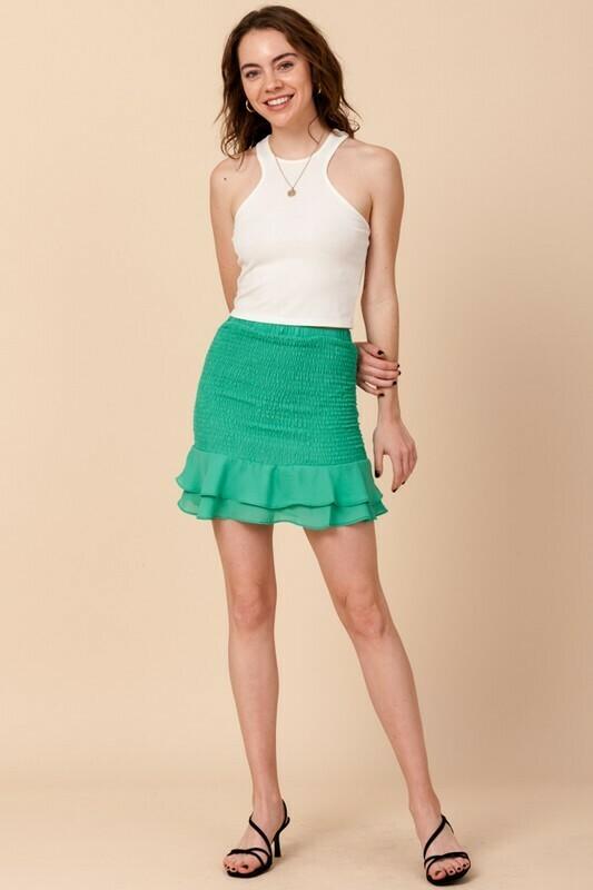 Hannah Skirt-Green