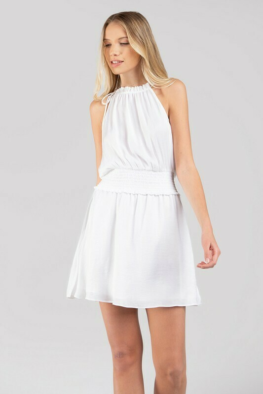 Bea Good Dress-White