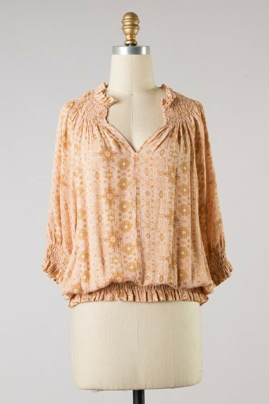 Ditzy Blouse