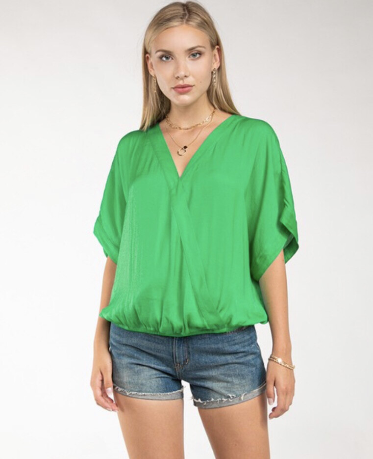 Andie Blouse-Green