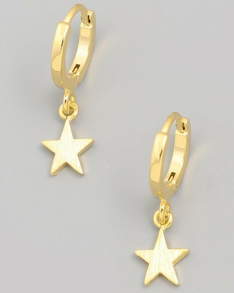 Mini Star Hoops