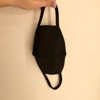 Black Cloth Mask
