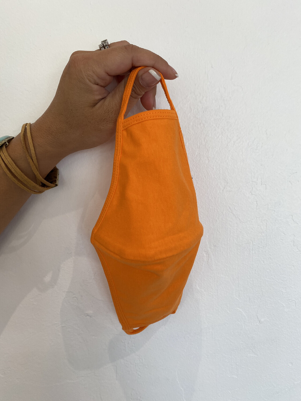 3 Layer Mask-Orange