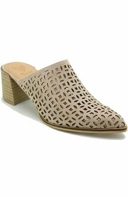 Carly Mule-Taupe
