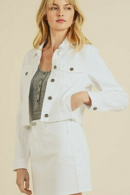 Distructed White Jacket