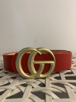 Double G Red Belt