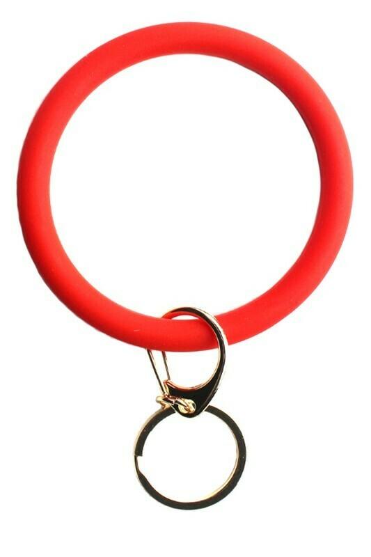 Bracelet Keychain-Red