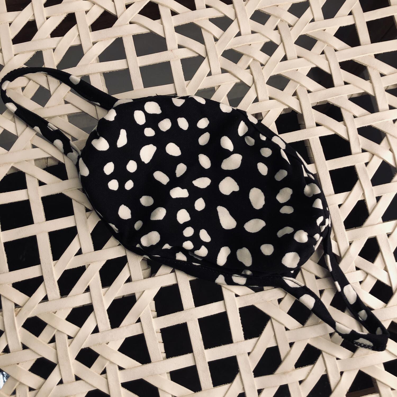 Black Dalmation Mask