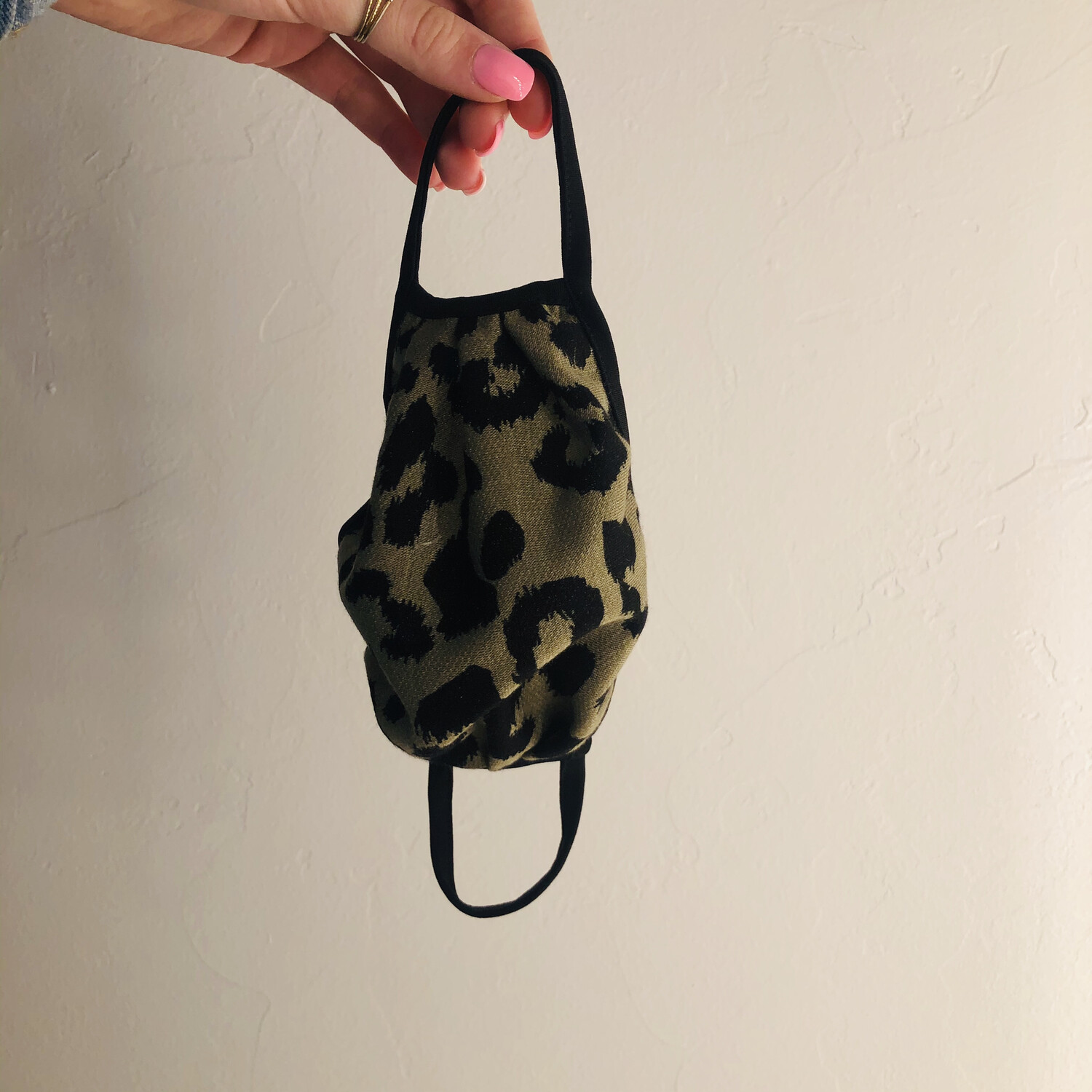 Leopard Mask With Wire